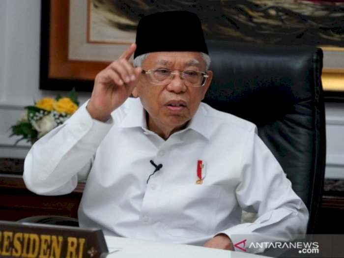 Wapres Ma'ruf Amin Tunggu Rekomendasi Dokter Kepresidenan untuk Vaksin Lansia