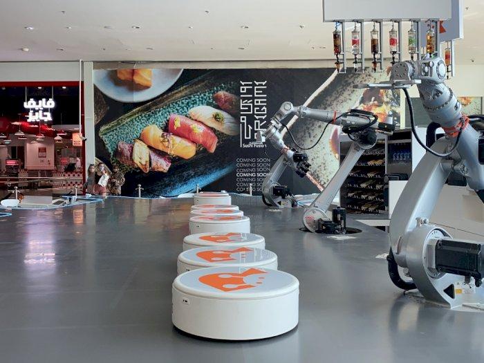 Mengintip Suasana Kafe Robot di Dubai