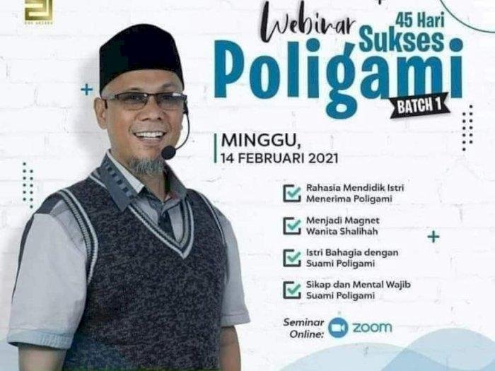 Hasil gambar untuk webinar poligami