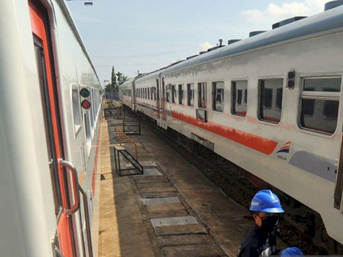 Wagub Sumbar Nasrul Abit Ingin Kereta Api Hidup lagi dan Jadi Transportasi Massal