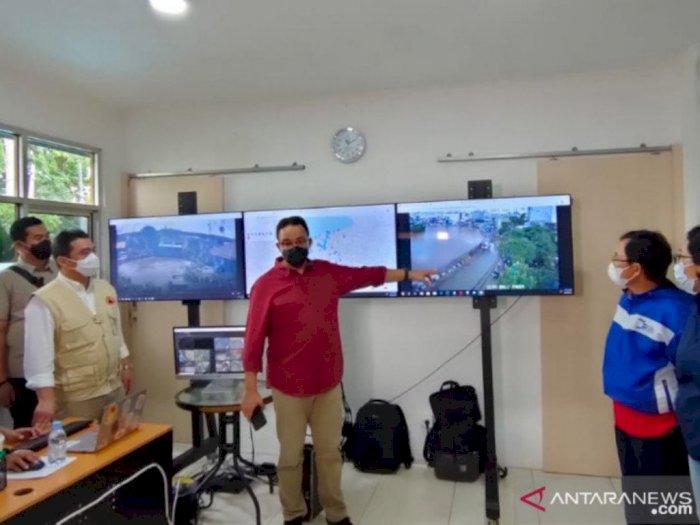 Gubernur DKI Jakarta Anies sebut Sudirman-Kemang Banjir karena Luapan Kali Krukut