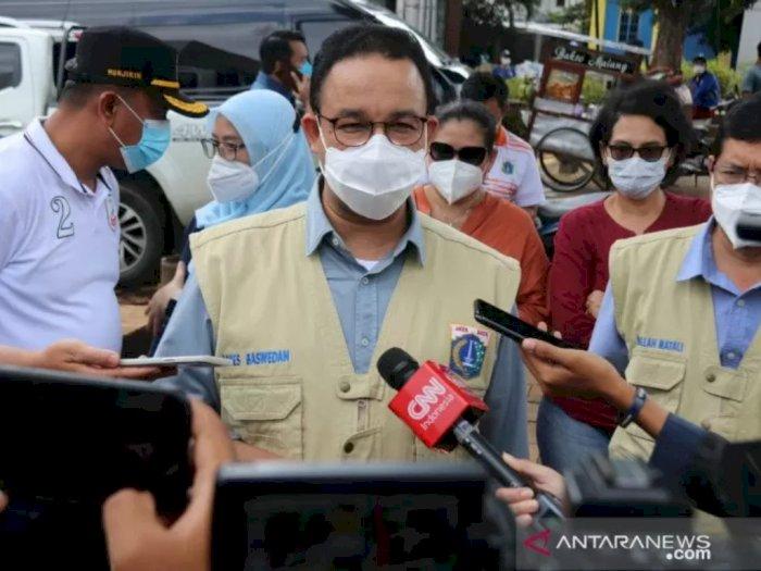 Jakarta Banjir, Anies: Kondisi Tetap Terkendali Kendati Curah Hujan Tinggi