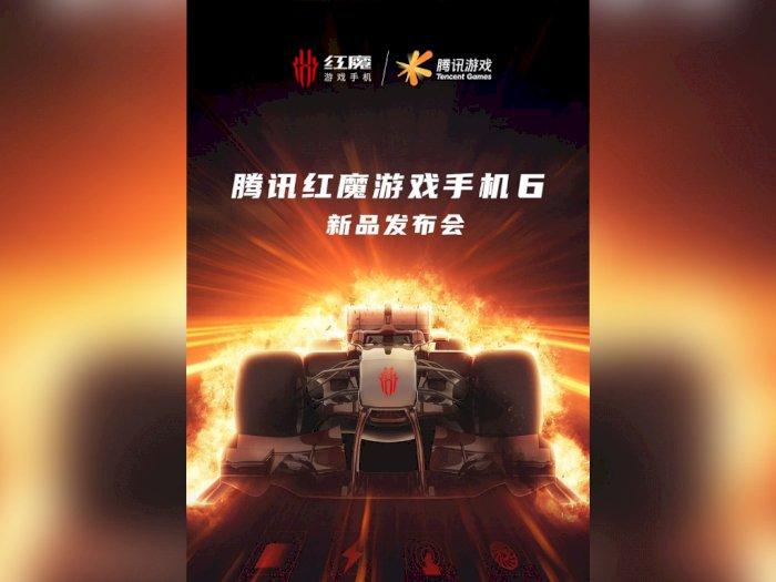 Smartphone Gaming Nubia Red Magic 6 Bakal Dirilis 4 Maret 2021 Nanti!