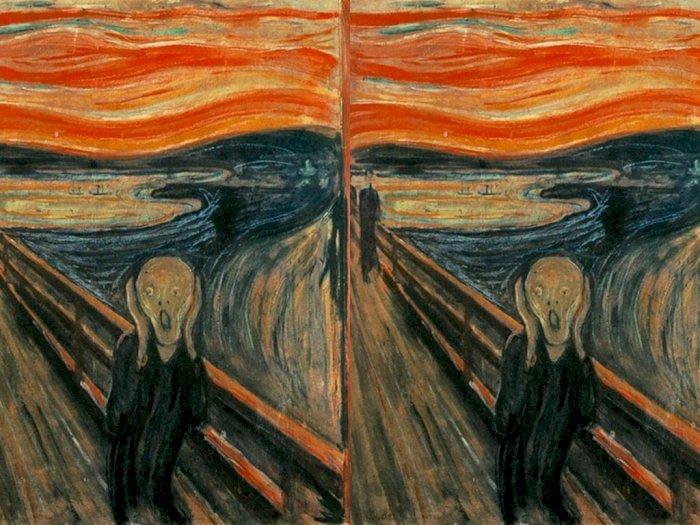 Para Peneliti Berhasil  Temukan Pesan Rahasia pada The Scream Usai Lakukan Pemindaian