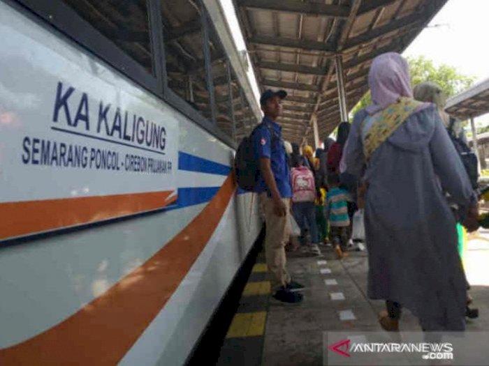 Kereta Jurusan Jakarta Siap Beroperasi Selasa Sore