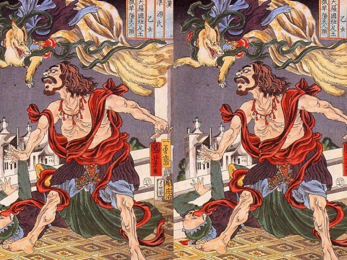 Mengenal Kitsune, Legenda Roh Rubah Berekor Sembilan dari Jepang