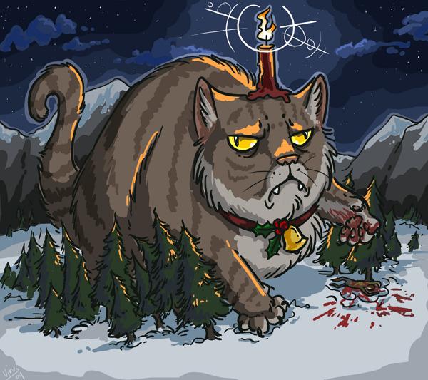 Legenda Kucing Yule di Islandia