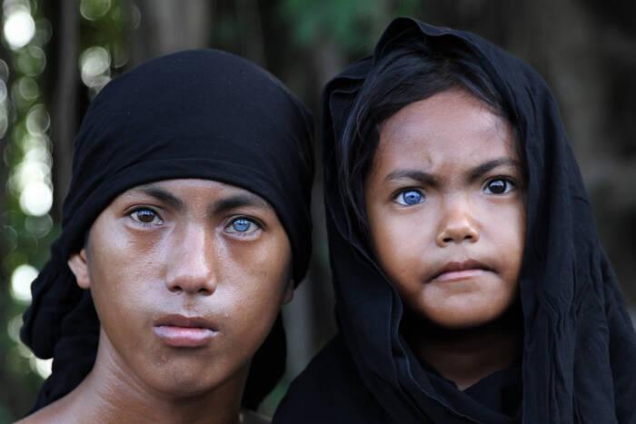 Syawal (kiri) dan Eni Wahyuni (kanan)