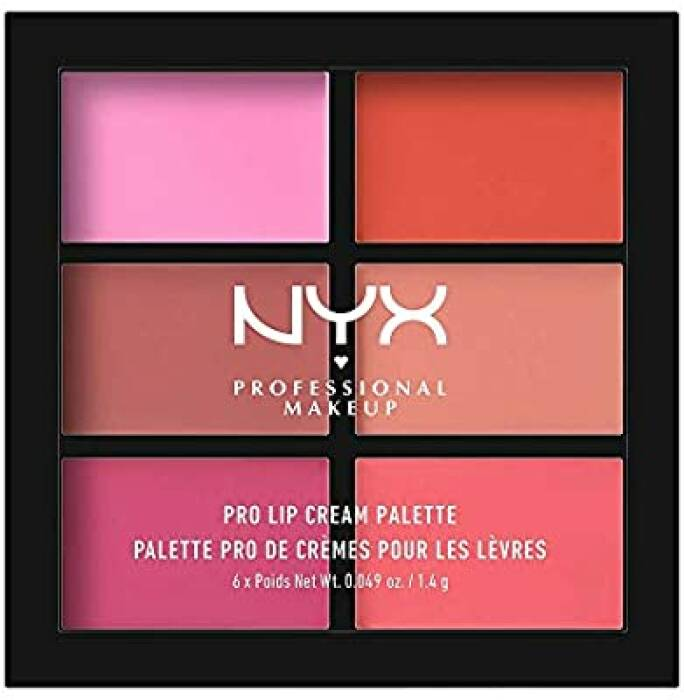NYX Professional Makeup Pro Lip Cream Palette in The Pinks