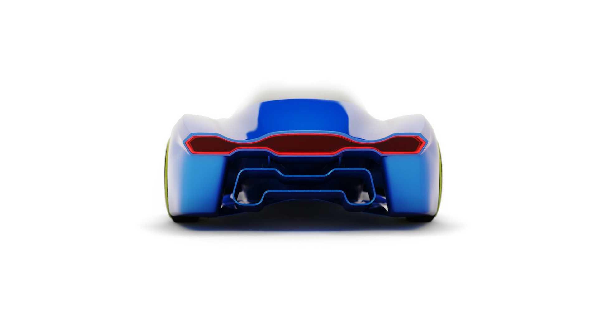 Konsep mobil Porsche Project 411
