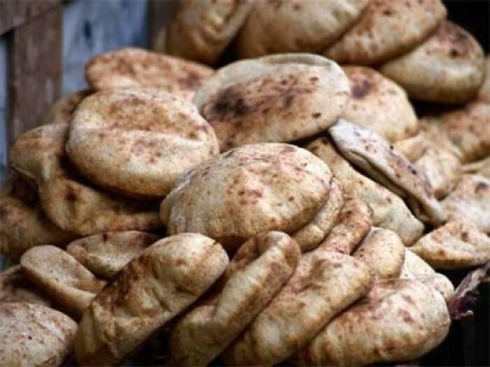 Aish Baladi, roti pipih khas Mesir.