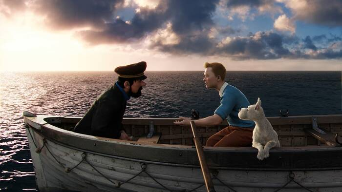 The Adventures of Tintin (2011). (Columbia Pictures)