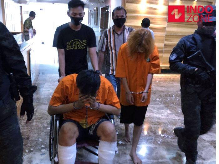 Konferensi pers kasus mutilasi di Apartemen Kalibata City, Jaksel.