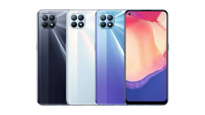 Tampilan smartphone OPPO Reno4 SE 5G
