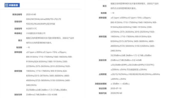 Bocoran informasi terkait smartphone terbaru Xiaomi