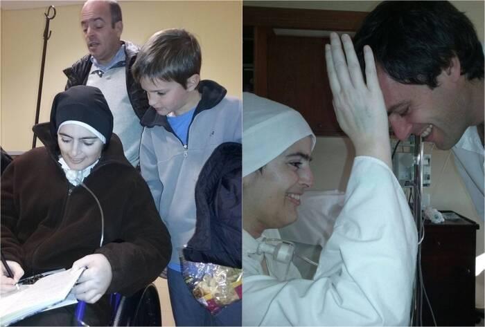 Suster Cecilia Maria meninggal dalam keadaan tersenyum