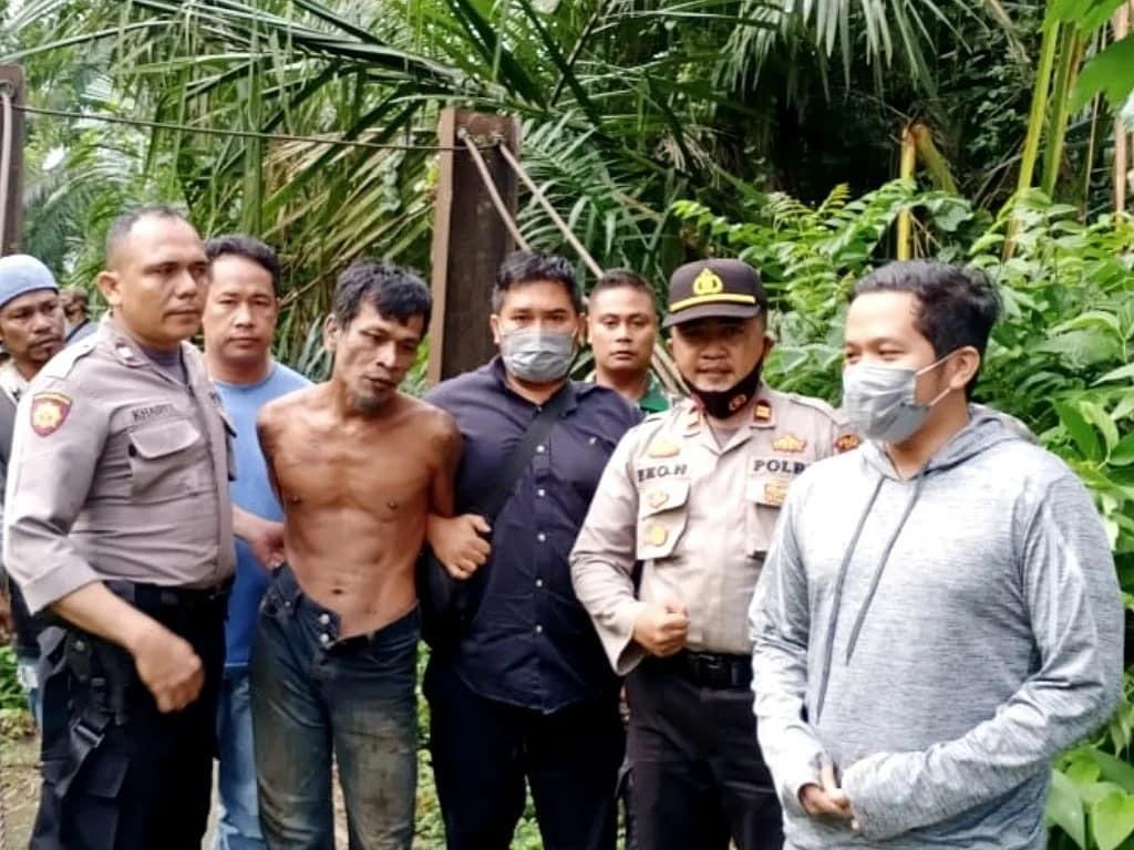 Pelaku pembunuhan bocah dan pemerkosa ibu ditangkap polisi