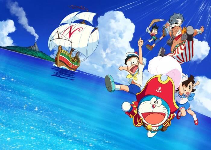 Doraemon The Movie: Nobita Treasure Island (2018). (CJ E&M)