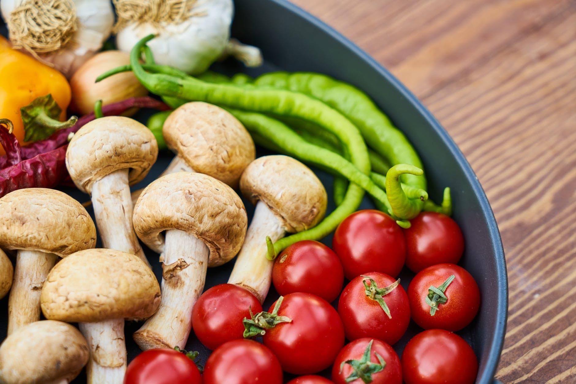 makanan pengganti untuk vegetarian yang sehat