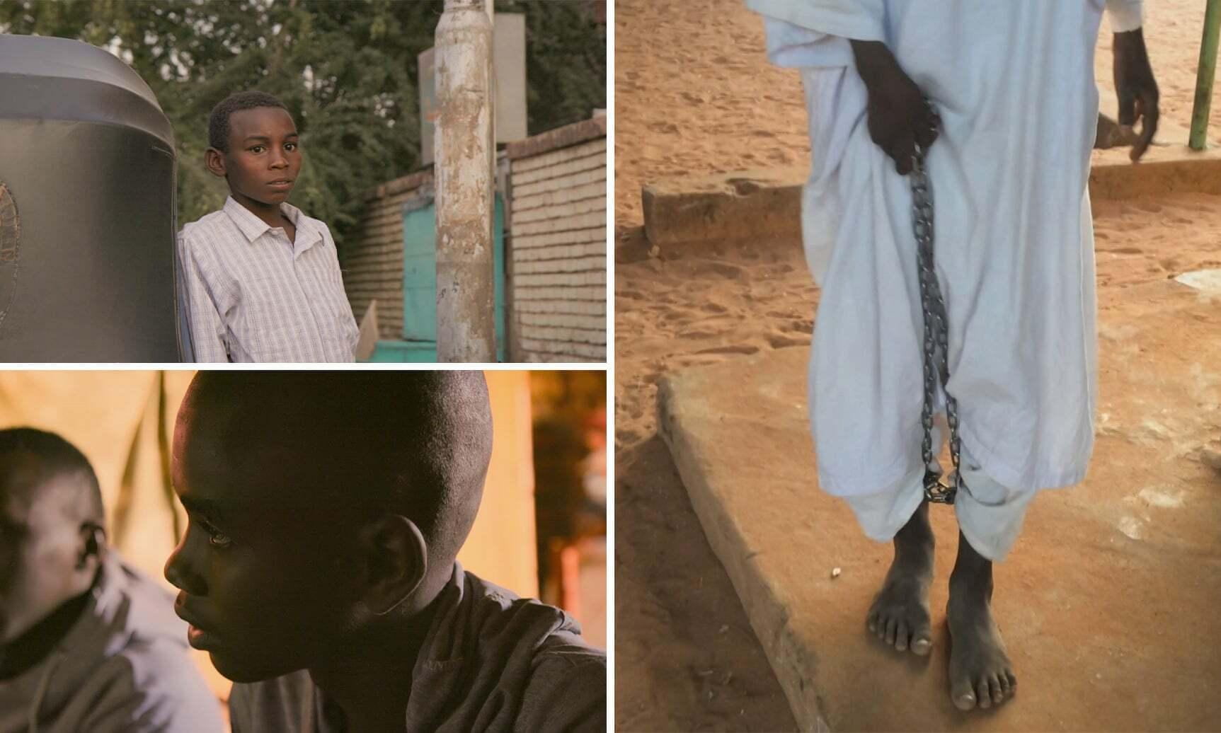 Anak-anak di Sudan disiksa di sekolah Sudan. (BBC News)