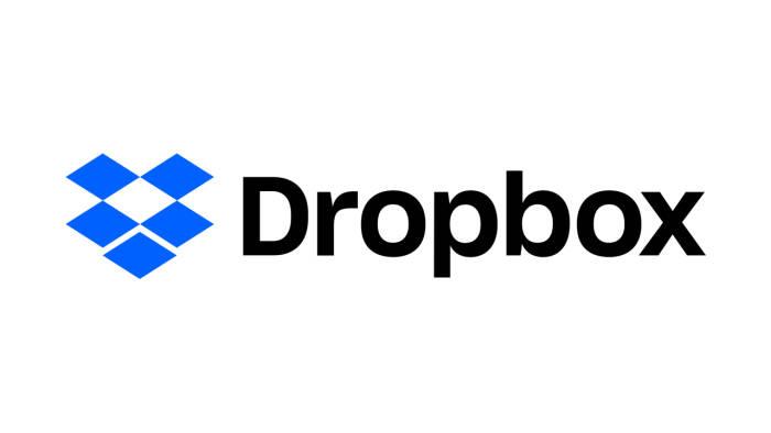 Logo layanan cloud storage Dropbox