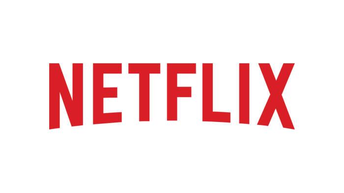 Logo layanan streaming film Netflix