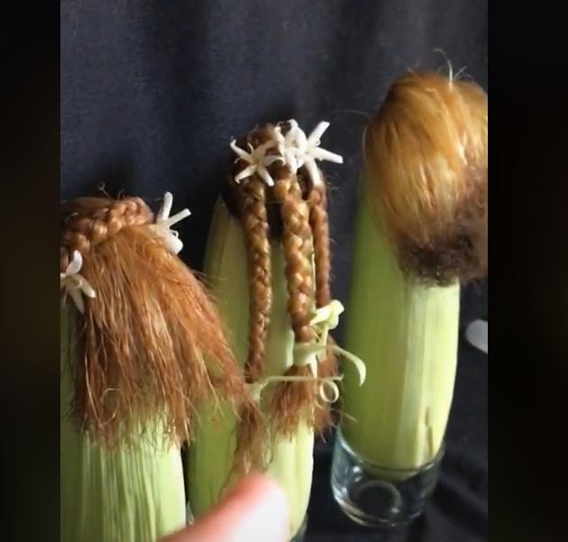 viral, video viral, diy rambut jagung