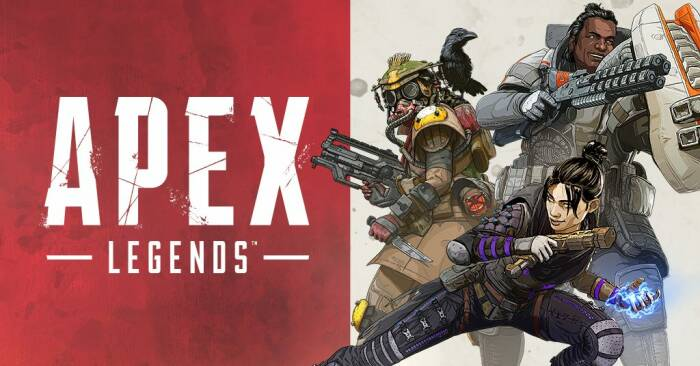 Ilustrasi karakter-karakter dari game battle royale Apex Legends