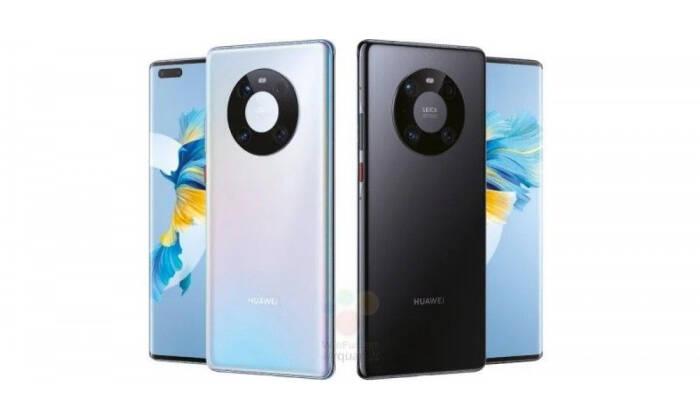 Tampilan smartphone Huawei Mate 40 Pro terbaru