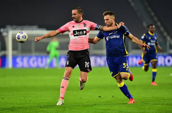 Foto Liga Italia Juventus Ditahan Imbang 1 1 Oleh Hellas Verona Indozone Id