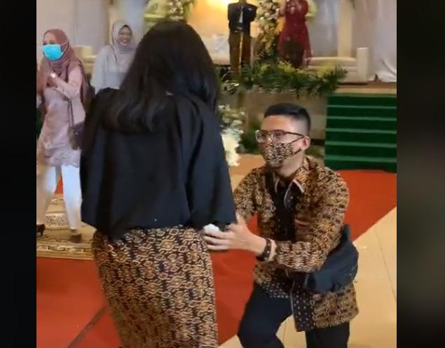 viral, video viral, lamaran pernikahan