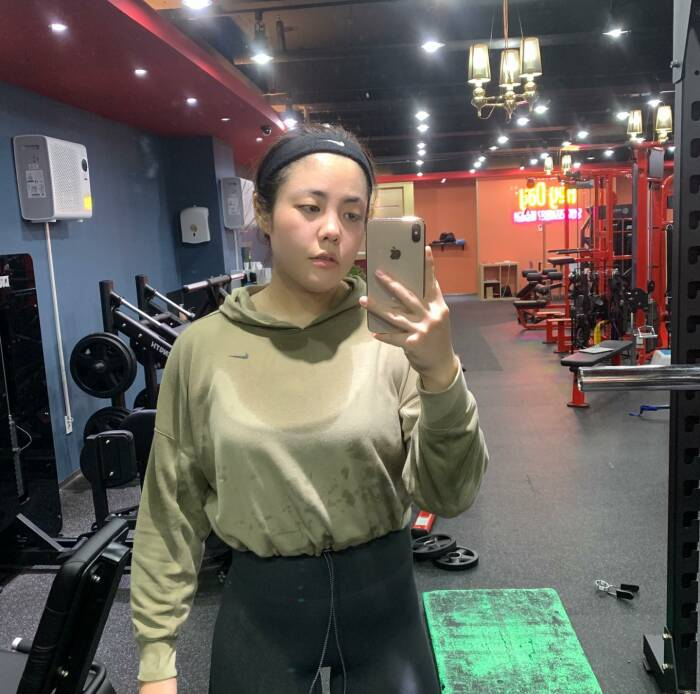 transformasi youtuber mukbang yang berhasil turunkan berat badan 44 kg