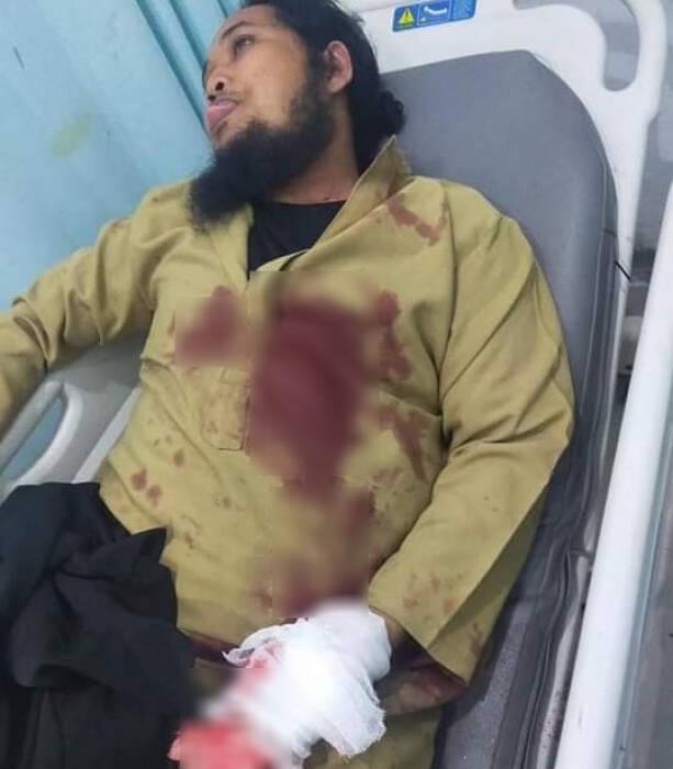 Muhamad Zaid Maulana jadi korban penikaman. (Istimewa)