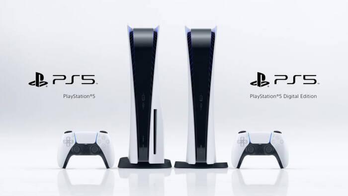 Tampilan console PlayStation 5 terbaru