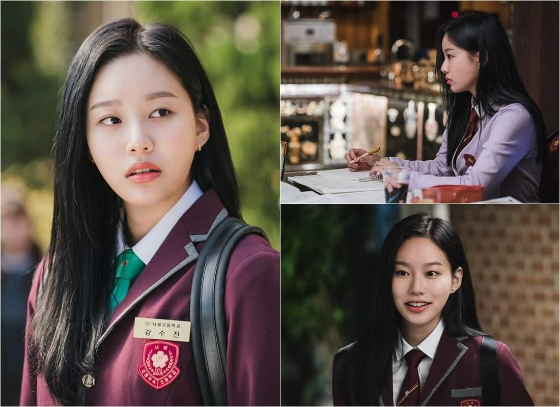 Park Yoo Na dalam drama Adaptasi Webtoon