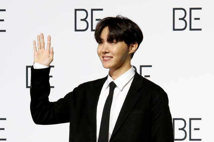 Anggota boy band K-pop BTS J-hope