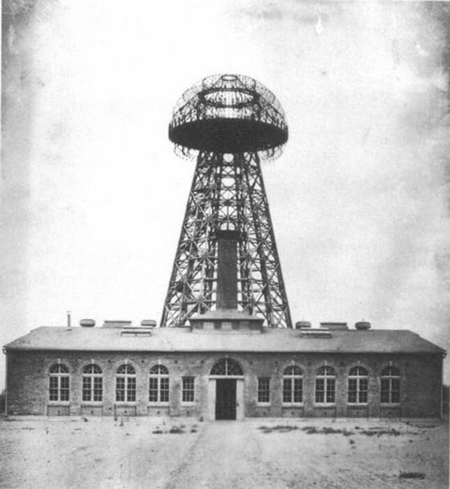 Menara Wardenclyffe 1904.