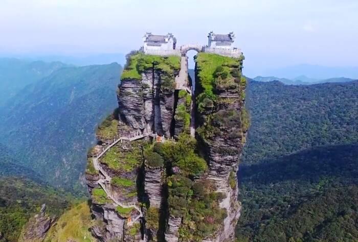 Gunung Funjing di Tiongkok