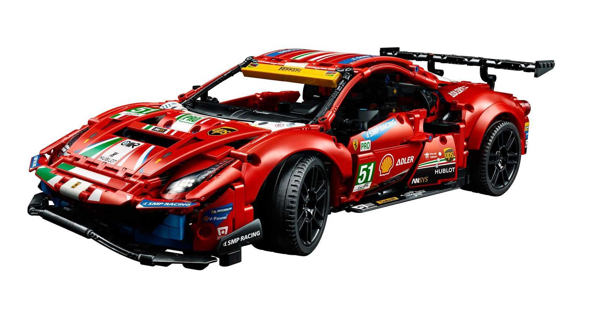 Lego mobil Ferrari 488 GTE