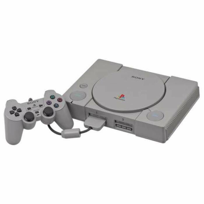 Konsol video game PlayStation.