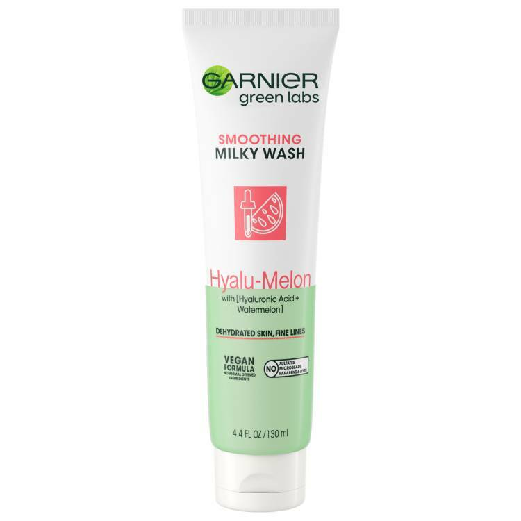 Garnier Green Labs Hyalu-Melon Smoothing Milky Washable Cleanser