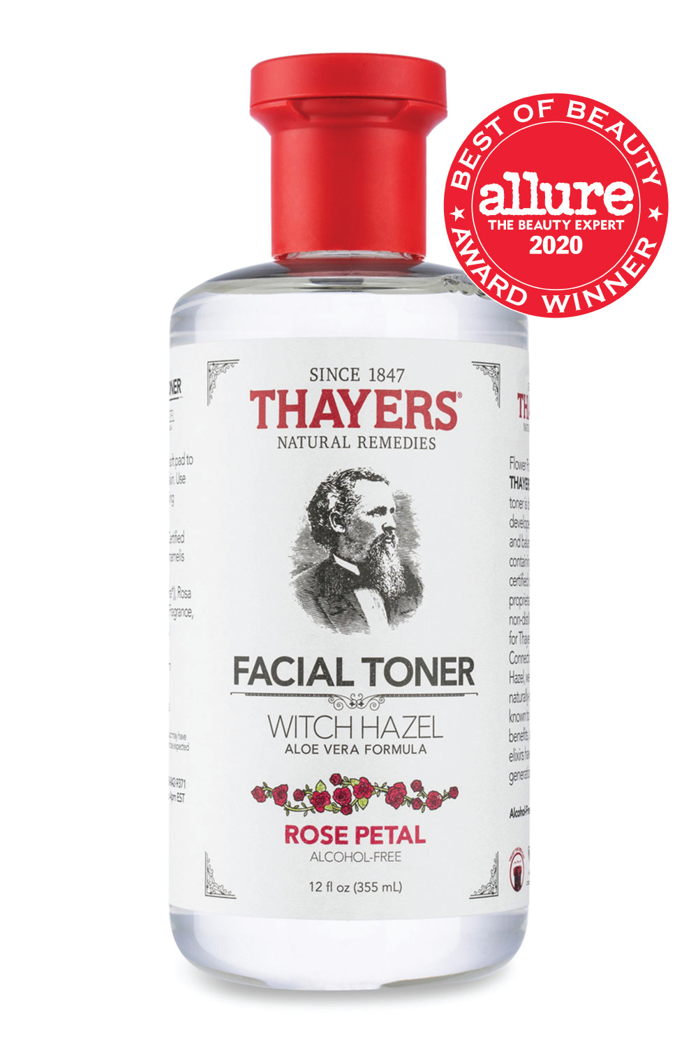Thayers Alcohol-Free Rose Petal Witch Hazel Facial Toner
