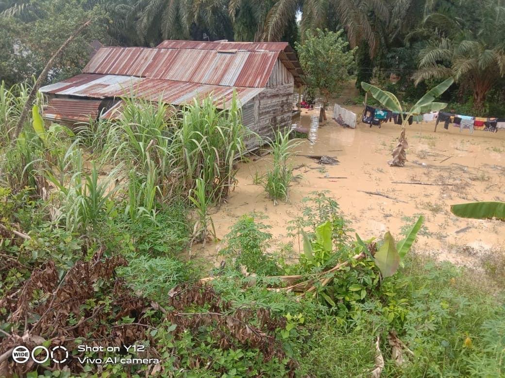 banjir di labuhanbatu utara