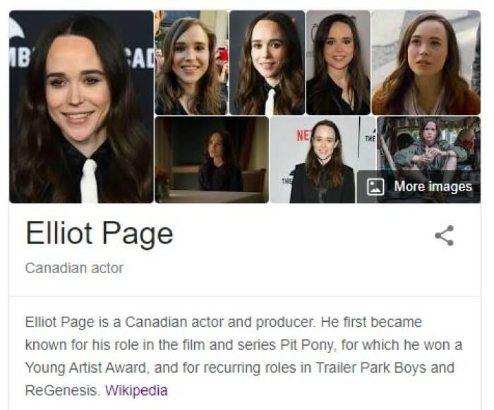 Elliot Page (Tangkapan layar)