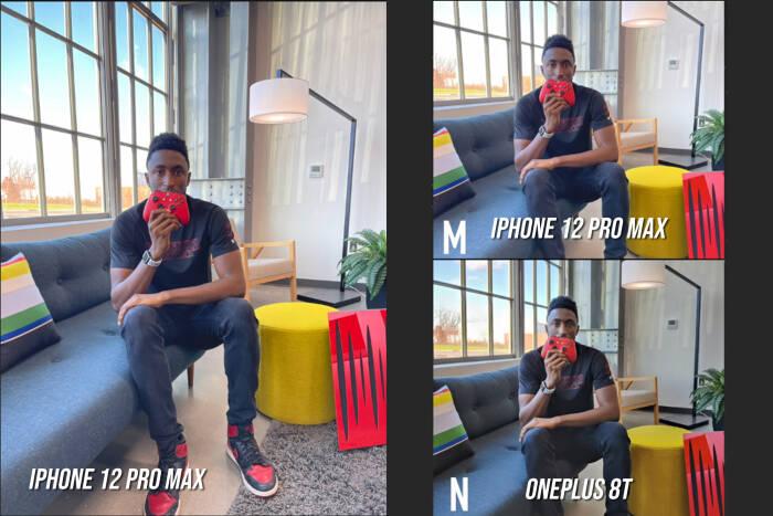 Hasil foto iPhone 12 Pro Max dibandingkan dengan OnePlus 8T