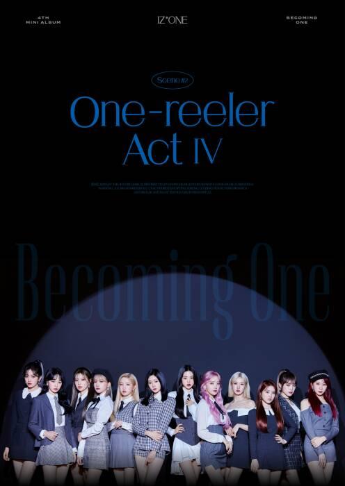 Para member IZ*ONE dengan konsep image