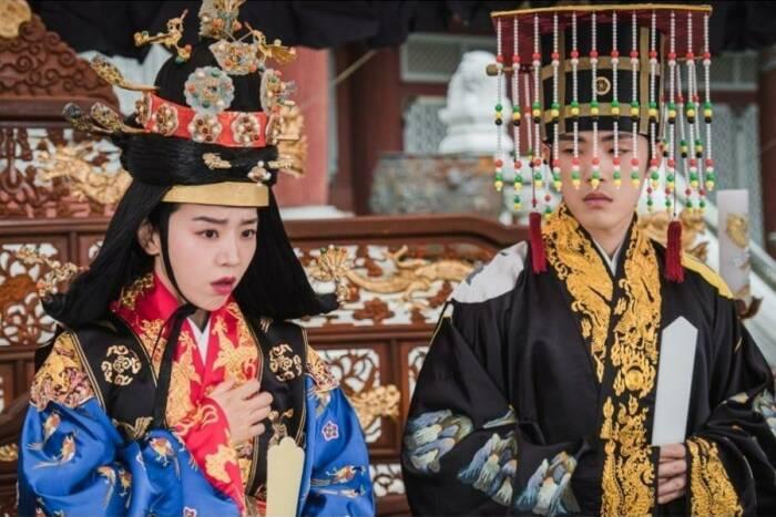 Drama Korea terbaru Mr. Queen. (tVN)