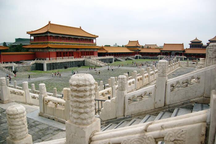 Kota Terlarang di Beijing.