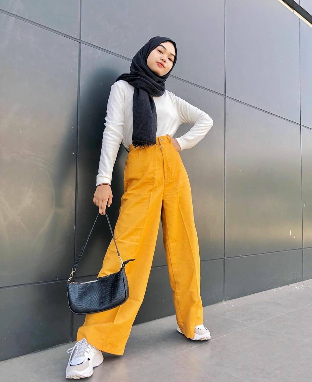 5 Tutorial Hijab Pashmina Terbaru Dan Termudah Indozone Id