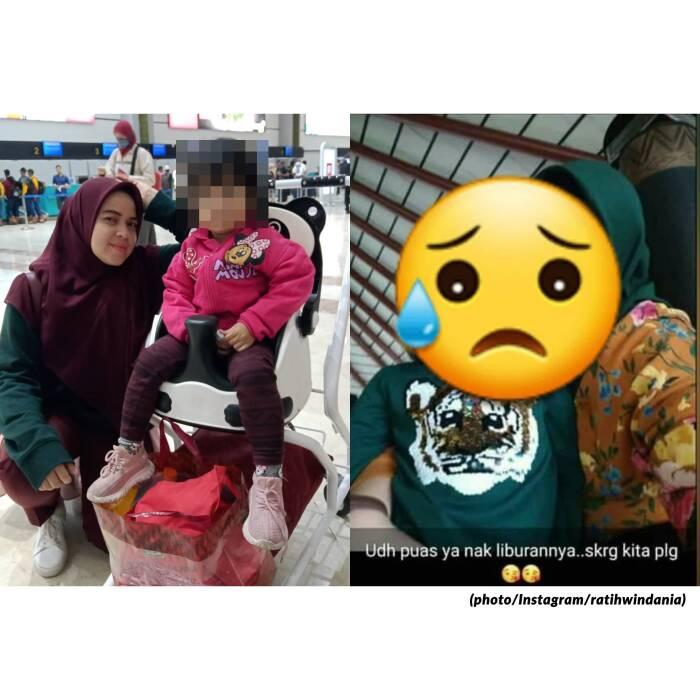Unggahan Ratih Windania bersama putrinya, Yumna Fanisyatuzahra
